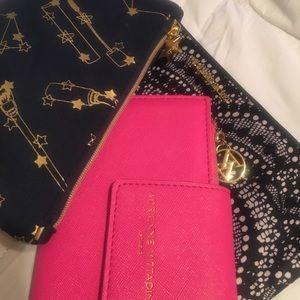 Handbags - 2make-up bags 1 wallet